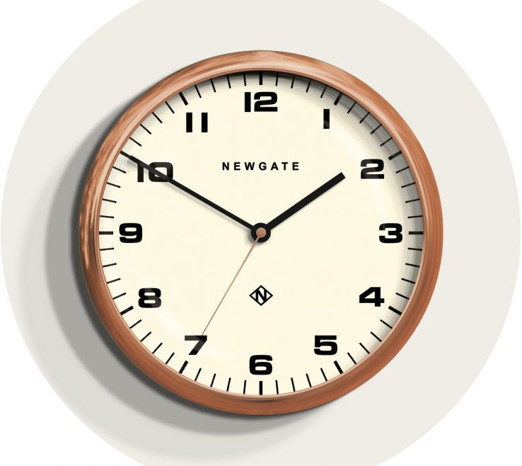 Elegant Wall Clocks For Kitchens Of Copper Clock | Large Kitchen | Newgate
