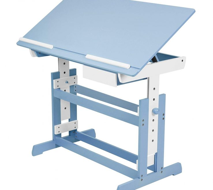 Enchanting Child Desk Height Of Tectake Kids | Table Different Colours