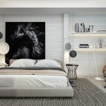 Enchanting Modern Accent Wall Ideas Of Luxury Bedroom Decor On A Budget