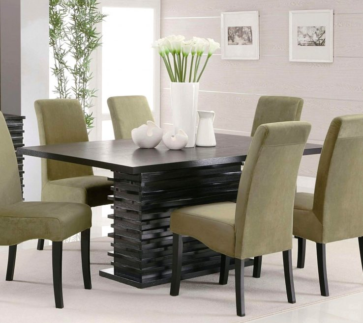 Enchanting Modern Dining Table Centerpieces Of Impressive Floral Pattern Room Ideas Vase White