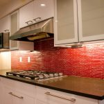 Enchanting Red Brick Kitchen Wall Tiles Of Burnt Orange Walls Orange Decorating Ideas Orange