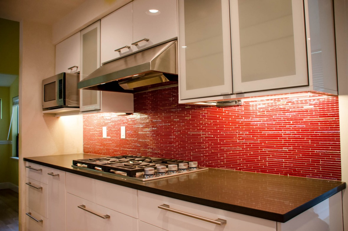 Enchanting Red Brick Kitchen Wall Tiles Of Burnt Orange Walls
