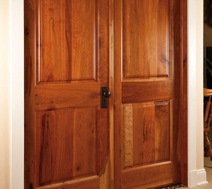 Endearing Cherry Doors Of Neuenschwander Raised Panel Interior