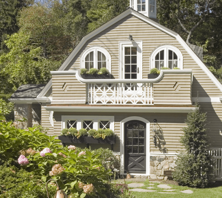 Endearing Cottage Paint Color Schemes Of Beige