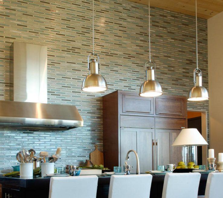Endearing Designer Kitchen Backsplash Of Matchstick Tile Backsplash