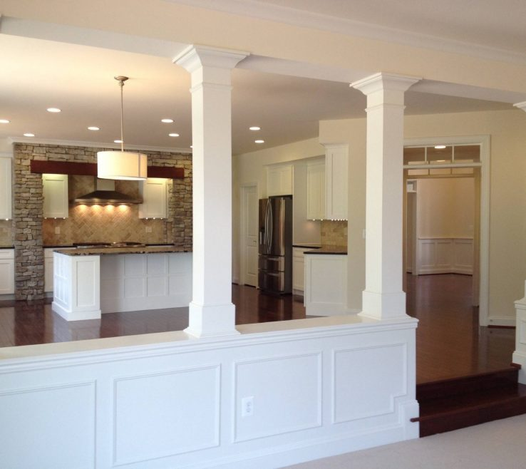 Endearing Indoor Column Ideas Of Basement Half Walls And Design Columns Basement