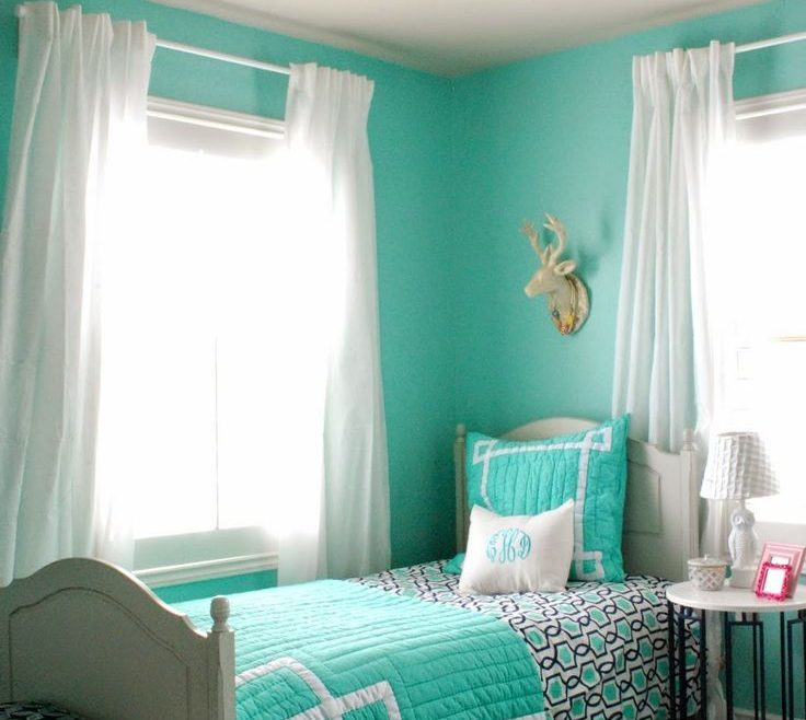 Endearing Paint Colors For Teenage Girl Room Of 15 Best Images About Turquoise Decorations |