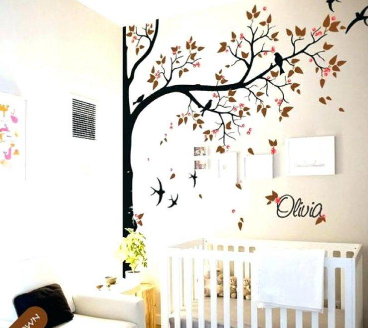 Endearing Vinyl Wall Art Ideas Of Tree Decal Birch Sticker Modern Large Decor