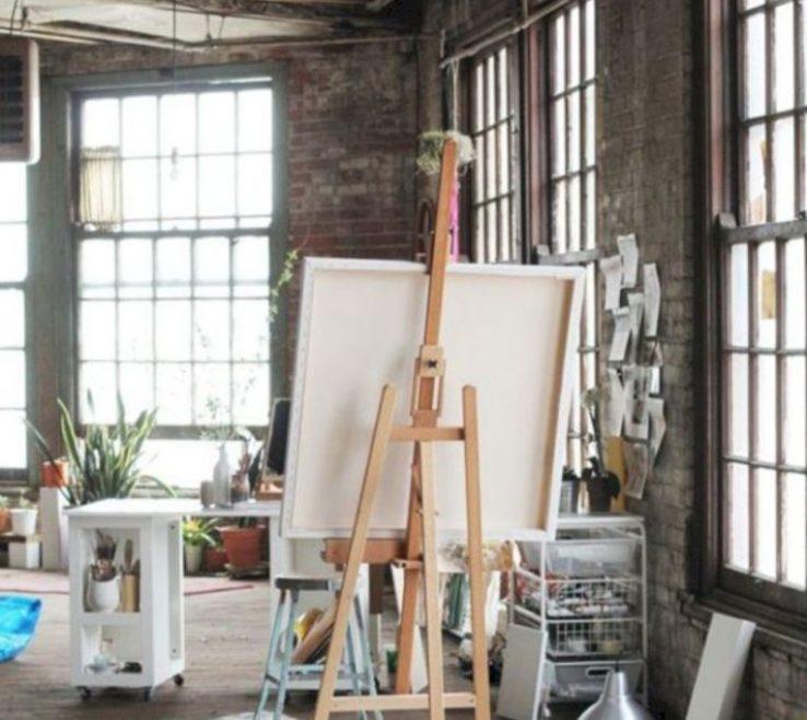 Enthralling Art Studio Ideas Of Brilliant Design For Small Spaces