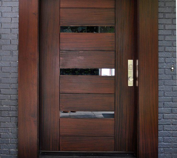 Enthralling Cherry Doors Of Beautiful Modern Front Door Update Dark