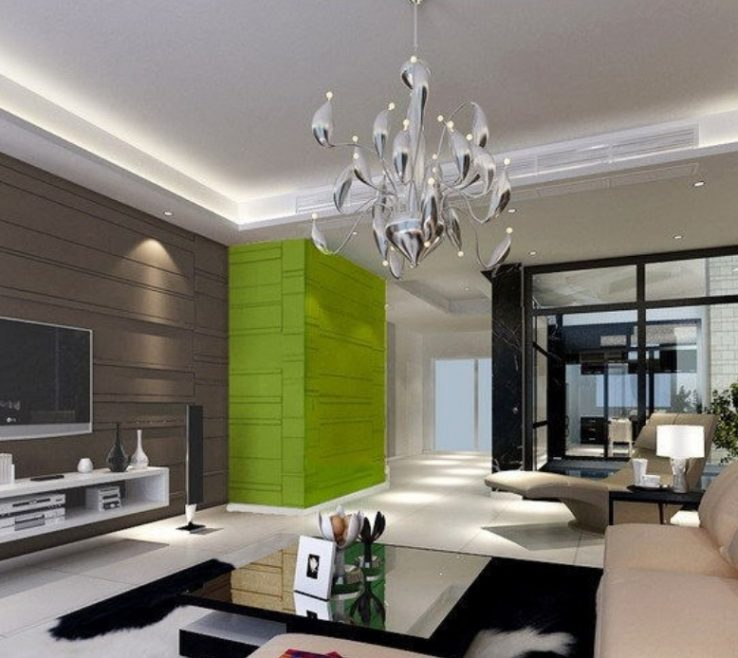 Enthralling Decorating In Green Of Image Of: With Gray Paint Ideas