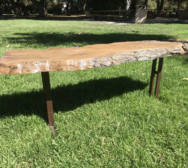 Enthralling Garden Bench Table