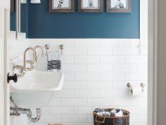 Modern Bathroom Walls