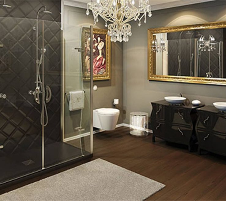 Enthralling Showers Of 3# Luxury Frameless Shower Designs