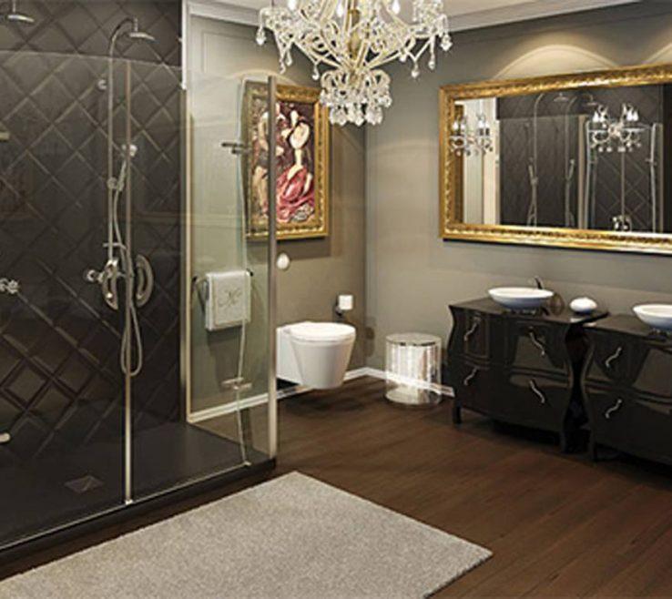 Enthralling Showers Of Luxury Frameless Shower Designs