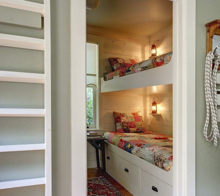 Entrancing Beds For Small Spaces Of Love A Bunk Room Guestsfor The Guest