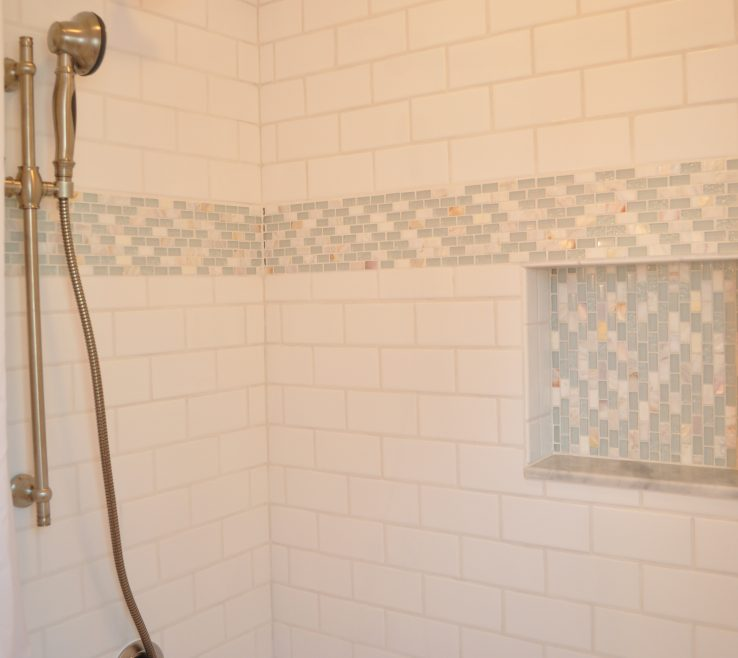 Entrancing Shower Surround Tile Ideas Of Subway Bathrooms | Home Depot Flooring |