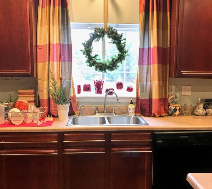 Entrancing Unique Window Treatments Of Small Kitchen Sink Kitchen Curtain
