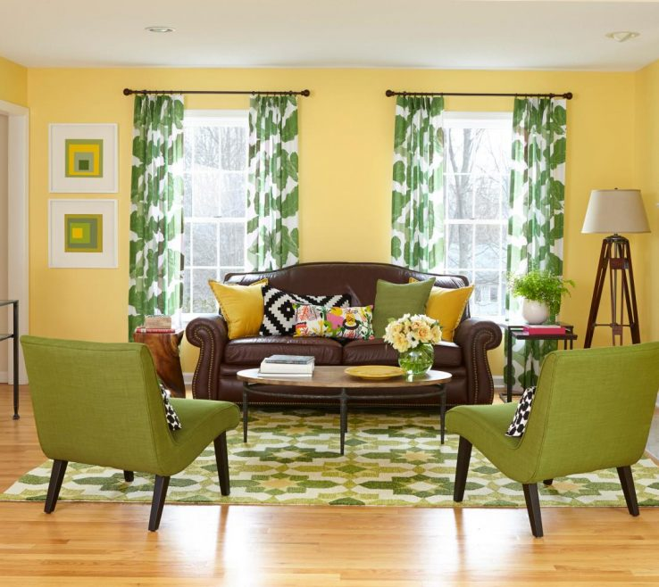 Exquisite Decorating With Yellow And Red Of Full Size Of Brown Blue Grey Green