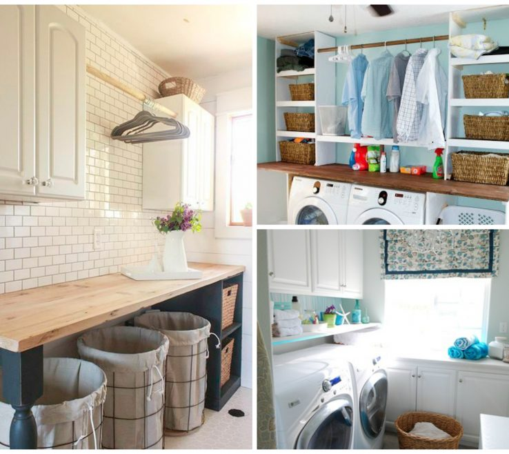 Exquisite Laundry Room Organizing Ideas
