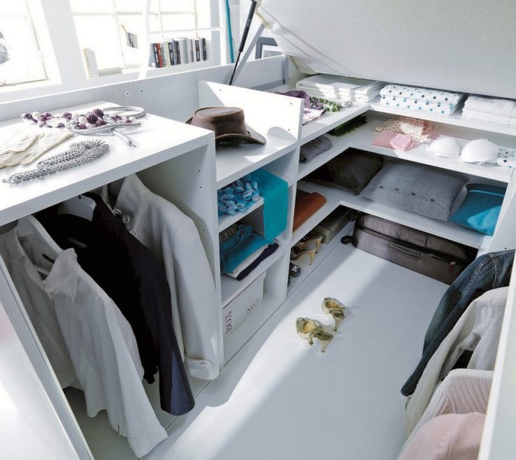 Exquisite Space Saving Storage Beds Of Ecolegno, Dielle, Container Bed, Container Bed