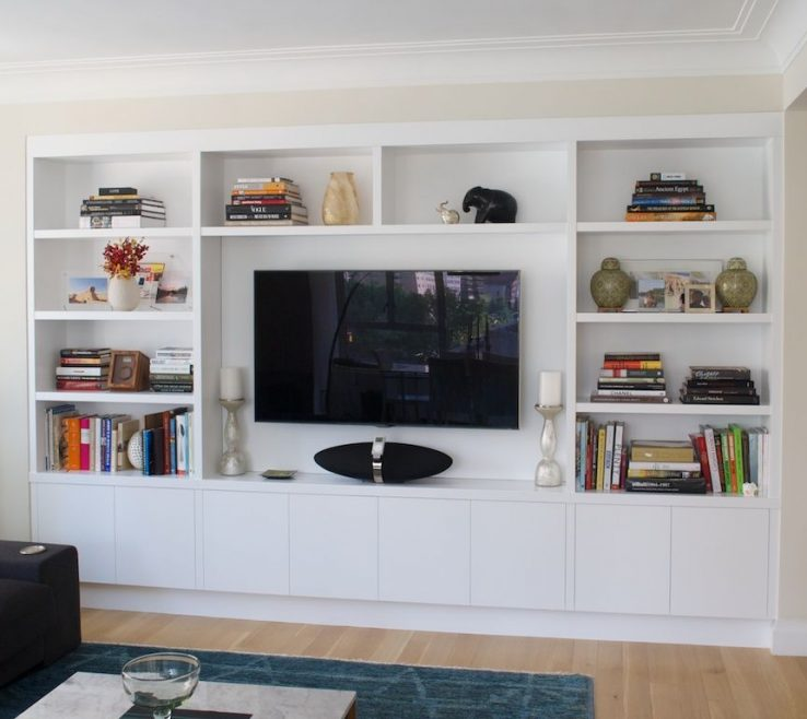Exquisite Wall Units Designs For Living Room Of Joinery Configuration Like This To Take Up
