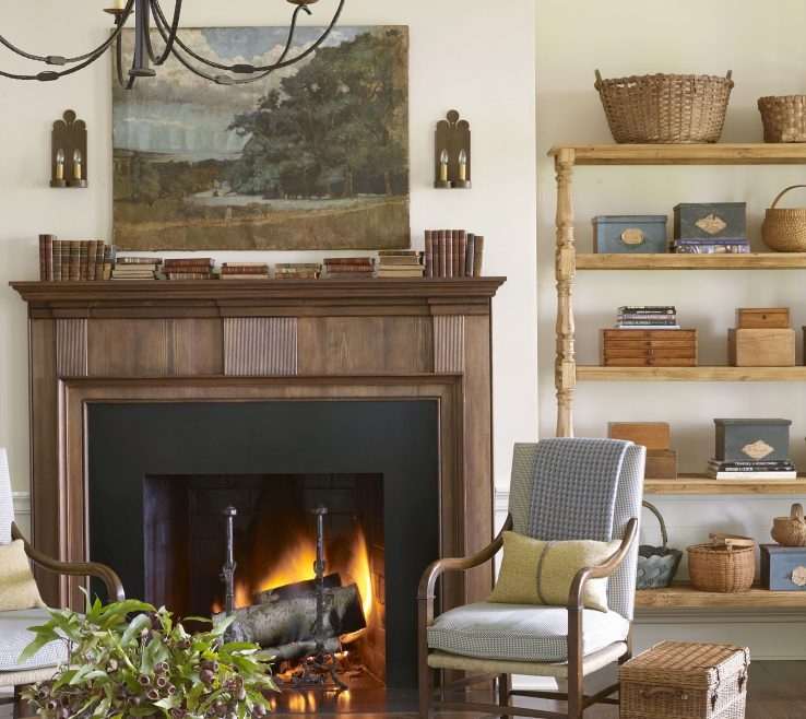 Extraordinary Family Rooms With Fireplaces