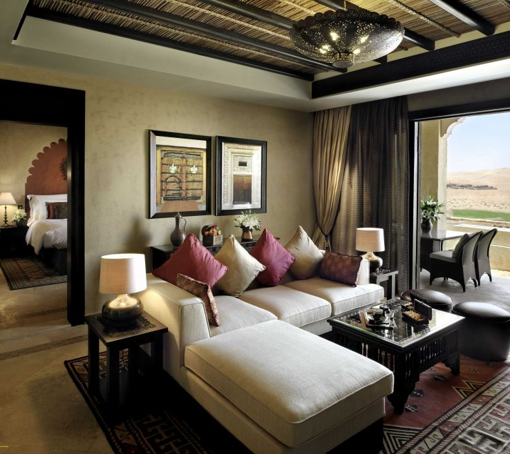 Extraordinary Middle Eastern Decorations Of Living Room Style Qasr Al Sarab Desert