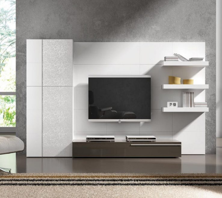 Extraordinary Wall Units Designs For Living Room Of Awesome Decorative Modern Style