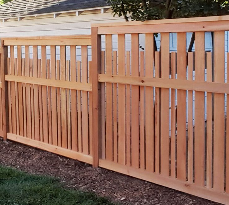 Extraordinary Wood Fence Designs Of Unique
