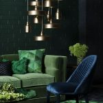 Eye Catching Dark Green Living Room Of Dream Shoot For Embassy Stylingcreative Direction Photography
