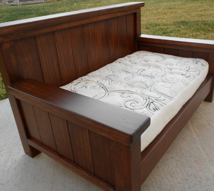 Eye Catching Diy Outdoor Daybed With Canopy Of Cozy Rustic And Full Size