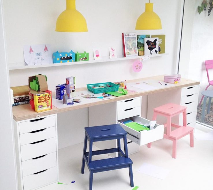 Eye Catching Kids Study Table With Storage Of They Came Home For Lunch #lytheyliketheirplace #thatstylingthing