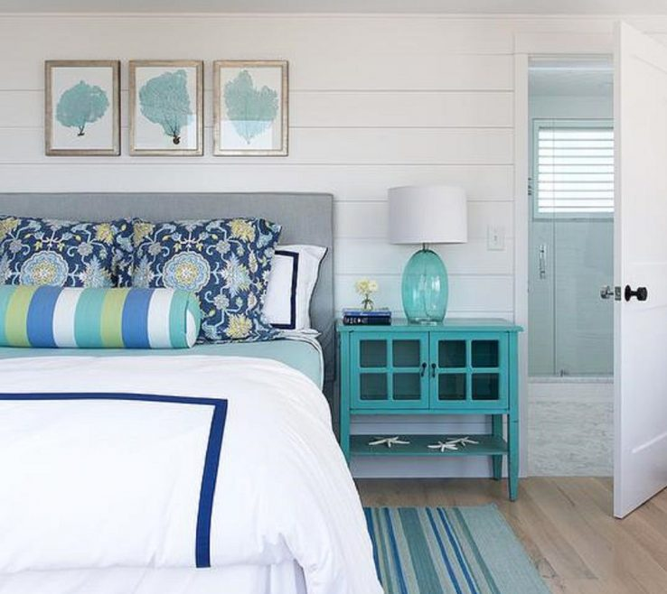 Eye Catching Turquoise Blue Bedroom Designs
