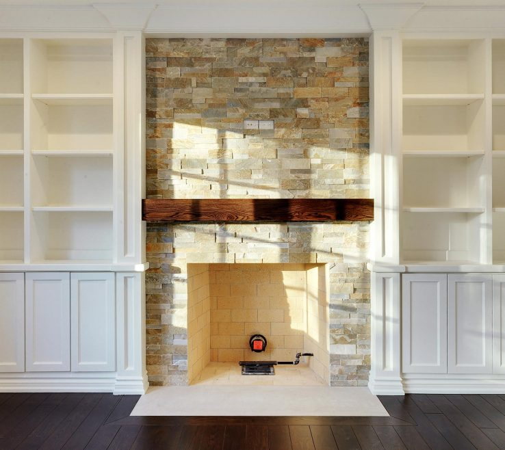 Family Rooms With Fireplaces Of Room Custom Millwork And Fireplace Detail