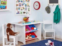 Kids Study Table With Storage