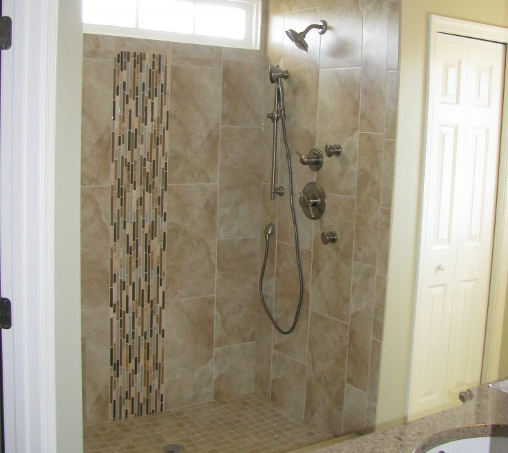Fascinating Shower Surround Tile Ideas Of Bathroom:ing Tiling For Bathrooms With Images Decoration