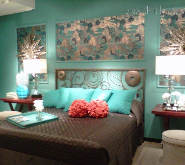 Fascinating Turquoise Blue Bedroom Designs Of Decorating Ideas