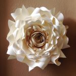 Flower Wall Decorations Of Giant Paper Flower, Decor, Wedding Decor, Party