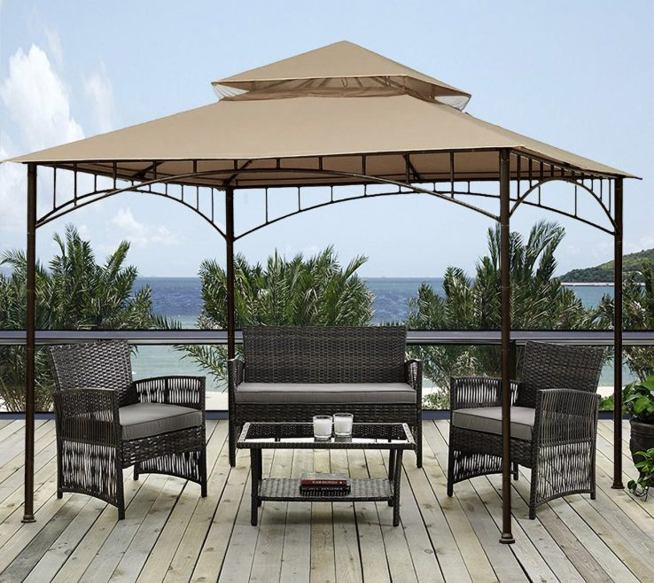 Furniture For Gazebo Of Conceptreview : Sunjoy 10