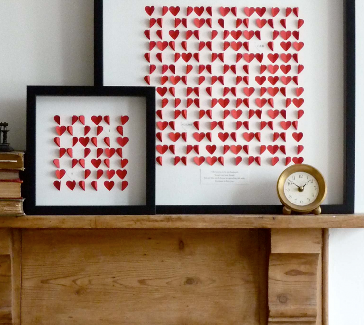 Heart Decorations Home Of Framed Collection
