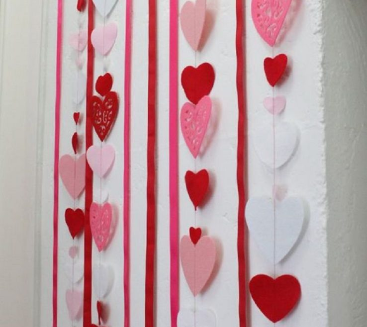 Heart Decorations Home Of Love Backdrop Tutorial 15 Lovey Dovey Diy