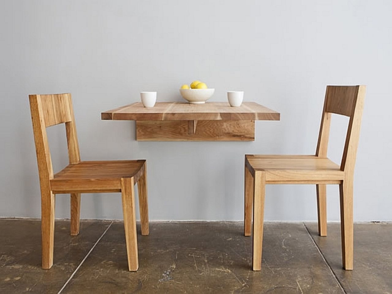- Hinged Dining Table Of Wall Fold Away Tables For Small Spaces