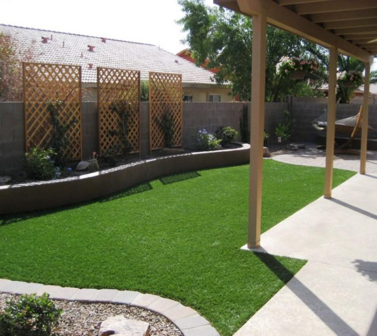 Ideas For Yard Privacy Of Landscaping Backyard Fence Fences
