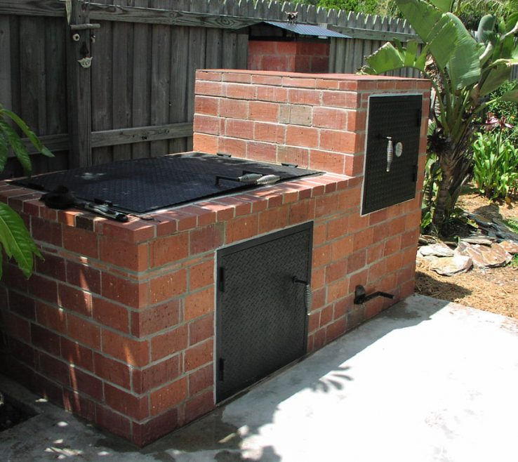 Impressing Bbq Grill Design Ideas Of Picture Of Whats Concrete Without Some Steel?