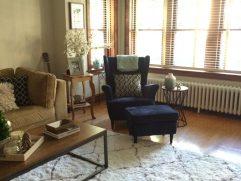 Dark Turquoise Living Room