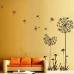 Impressing Flower Wall Decorations Of 3d Paper Decor