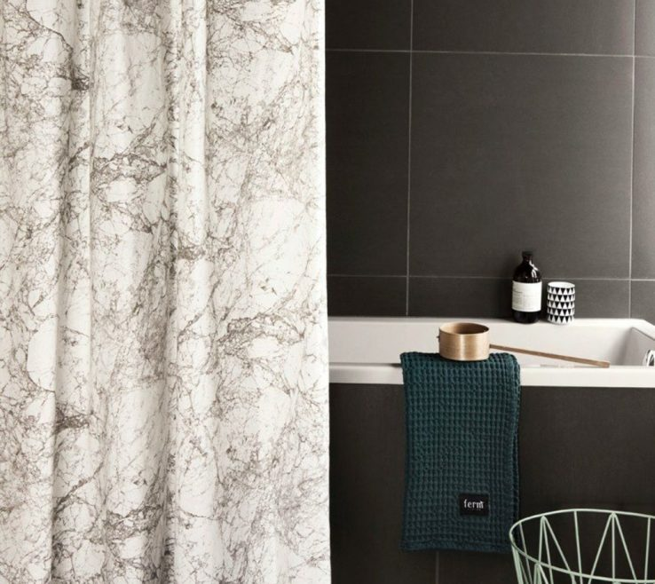 Impressing High End Shower Of Marble Curtain Ferm Living