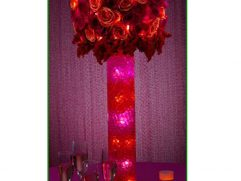 Red And Purple Home Decor