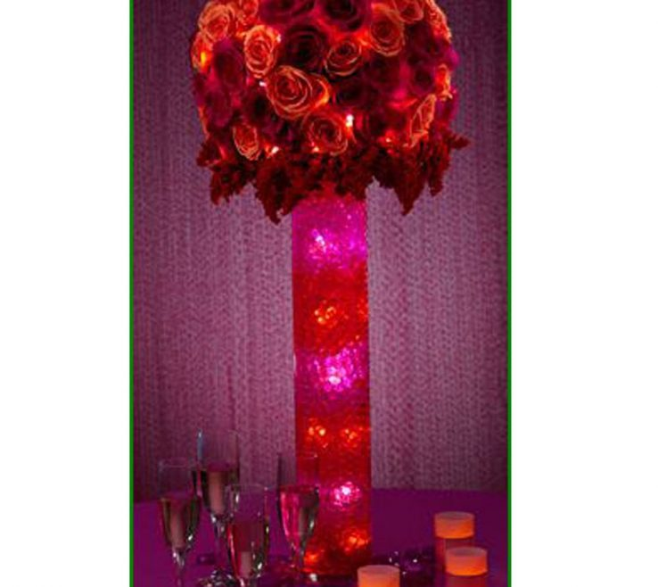 Impressing Red And Purple Home Decor Of Conceptreview Water Beads For Wedding Holiday All